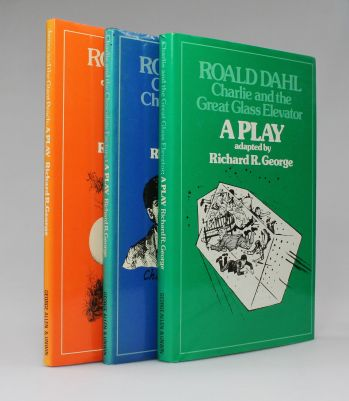 THE RAYNER UNWIN COLLECTION OF ROALD DAHL. Comprising JAMES AND THE GIANT PEACH, CHARLIE AND THE CHOCOLATE FACTORY, FANTASTIC MR FOX, THE MAGIC FINGER and others, Together with Several Typed Letters Signed, Between the Author and his Publisher. -  image 5