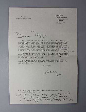THE RAYNER UNWIN COLLECTION OF ROALD DAHL. Comprising JAMES AND THE GIANT PEACH, CHARLIE AND THE CHOCOLATE FACTORY, FANTASTIC MR FOX, THE MAGIC FINGER and others, Together with Several Typed Letters Signed, Between the Author and his Publisher. -  image 9