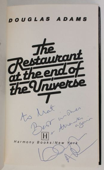 THE RESTAURANT AT THE END OF THE UNIVERSE -  image 4
