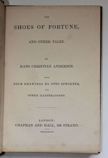 THE SHOES OF FORTUNE AND OTHER TALES -  image 3