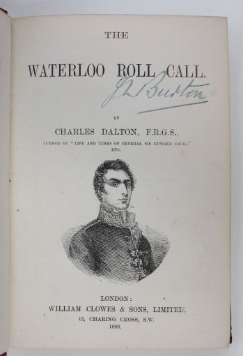THE WATERLOO ROLL CALL -  image 2