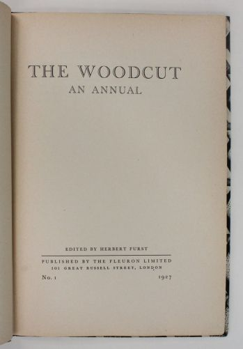 THE WOODCUT: An Annual -  image 3