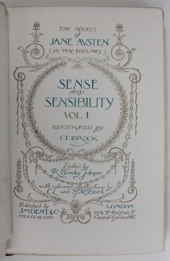 THE WORKS: SENSE AND SENSIBILITY, PRIDE AND PREJUDICE, EMMA, MANSFIELD PARK, NORTHANGER ABBEY and PERSUASION. -  image 7