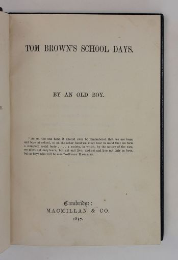 TOM BROWN'S SCHOOL DAYS. -  image 8