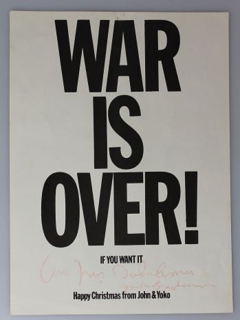 WAR IS OVER -  image 1