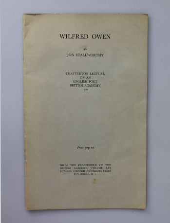 WILFRED OWEN -  image 1