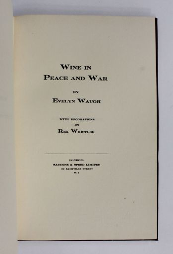 WINE IN PEACE AND WAR -  image 3