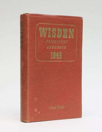 WISDEN CRICKETERS' ALMANACK 1945 -  image 1