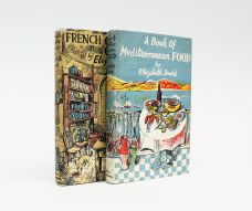 A BOOK OF MEDITERRANEAN FOOD together with FRENCH COUNTRY COOKING