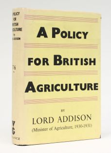A POLICY FOR BRITISH AGRICULTURE