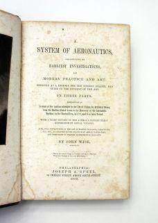 A SYSTEM OF AERONAUTICS;