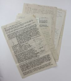 AN ARCHIVE OF AUTOGRAPH, TYPED AND ILLUSTRATED LETTERS BETWEEN DAVID LEACH AND SAM HAILE