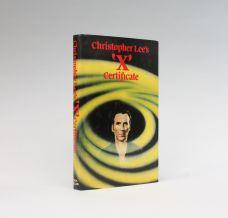 CHRISTOPHER LEE'S 'X' CERFICATE