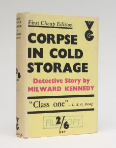 CORPSE IN COLD STORAGE