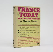 FRANCE TO-DAY AND THE PEOPLE'S FRONT