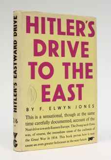 HITLER'S DRIVE TO THE EAST