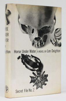 HORSE UNDER WATER.