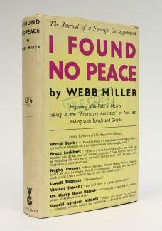 I FOUND NO PEACE.