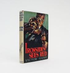IRONSIDES SEES RED