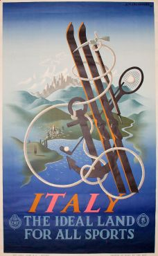 ITALY, THE IDEAL LAND FOR ALL SPORTS.