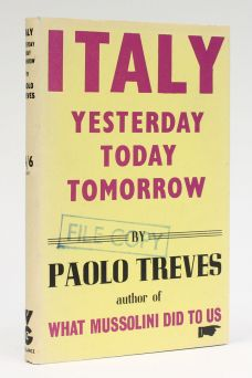 ITALY. YESTERDAY TODAY TOMORROW