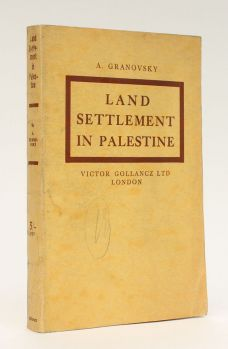 LAND SETTLEMENT IN PALESTINE
