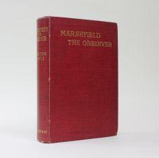 MARSHFIELD THE OBSERVER.