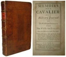 MEMOIRS OF A CAVALIER: or a Military Journal of the wars in Germany, and the Wars in England; from the year 1632, to the Year 1648.