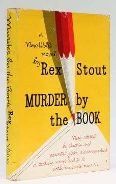 MURDER BY THE BOOK.