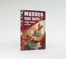 MURDER SHE SAYS!