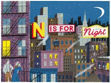 N IS FOR NIGHT.
