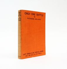 ONLY ONE BATTLE. INCLUDES SIGNED LETTER FROM THE AUTHOR.