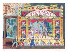 P IS FOR PANTOMIME.