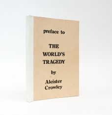 PREFACE TO THE WORLD'S TRAGEDY