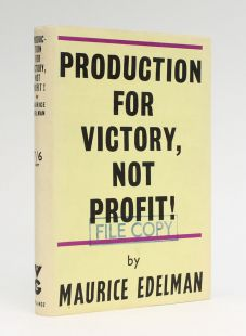 PRODUCTION FOR VICTORY, NOT PROFIT