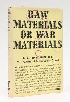 RAW MATERIALS OR WAR MATERIALS