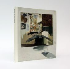 ROBERT RAUSCHENBERG. A Signed Exhibition Catalogue for the Artist's first Major Museum Retrospective.
