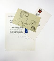 SIGNED LETTER [DECLINING TO PAINT THE POPE]