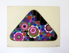 SIXTY-THREE ORIGINAL ART DECO GOUACHE AND WATERCOLOUR PACKAGING DESIGNS