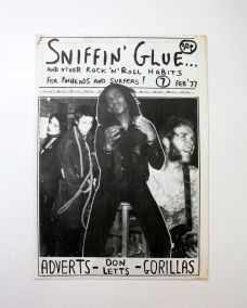 SNIFFIN GLUE and Other Rock 'n' Roll Habits for Pinheads and Surfers!