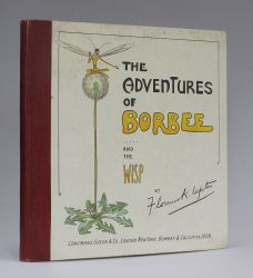 THE ADVENTURES OF BORBEE AND THE WISP: The Story of a Sophisticated Little Girl and an Unsofisticated Little Boy