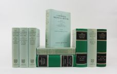 THE CAMBRIDGE MEDIEVAL HISTORY - COMPLETE SET - 8 VOLUMES (IN 9 BOOKS)