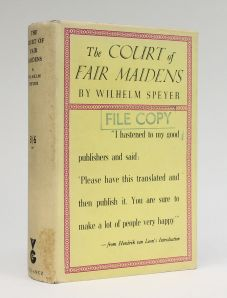 THE COURT OF FAIR MAIDENS