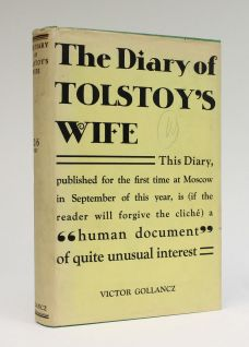 THE DIARY OF TOLSTOY'S WIFE 1860-1891