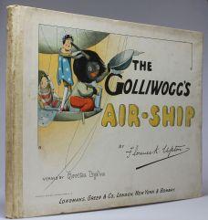 THE GOLLIWOGG'S AIRSHIP