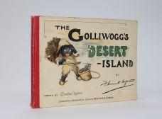 THE GOLLIWOGG'S DESERT ISLAND