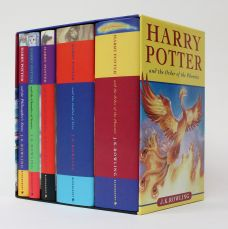 THE HARRY POTTER BOXED SET.
