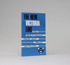 THE NEW VICTORIA LINE.