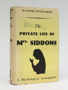 THE PRIVATE LIFE OF MRS. SIDDONS.