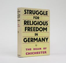 THE STRUGGLE FOR RELIGIOUS FREEDOM IN GERMANY